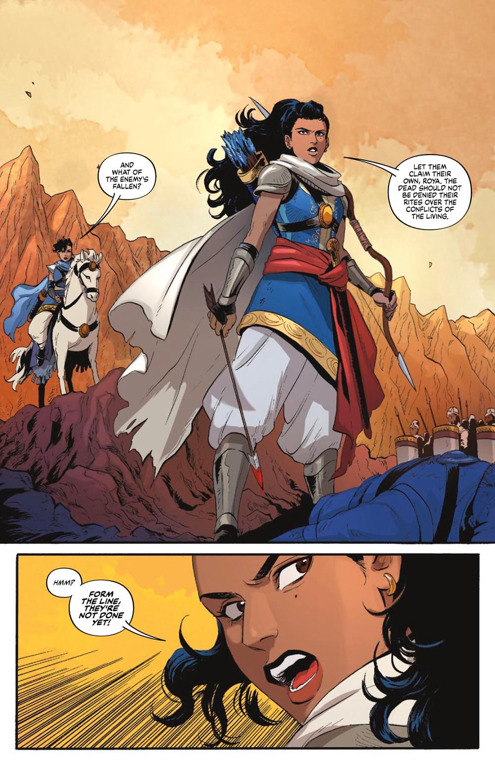 Sera and the Royal Stars, issue #1, Vault Comics, Tsuei/Mok