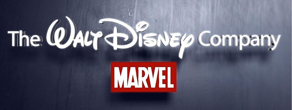Walt Disney & Marvel logos