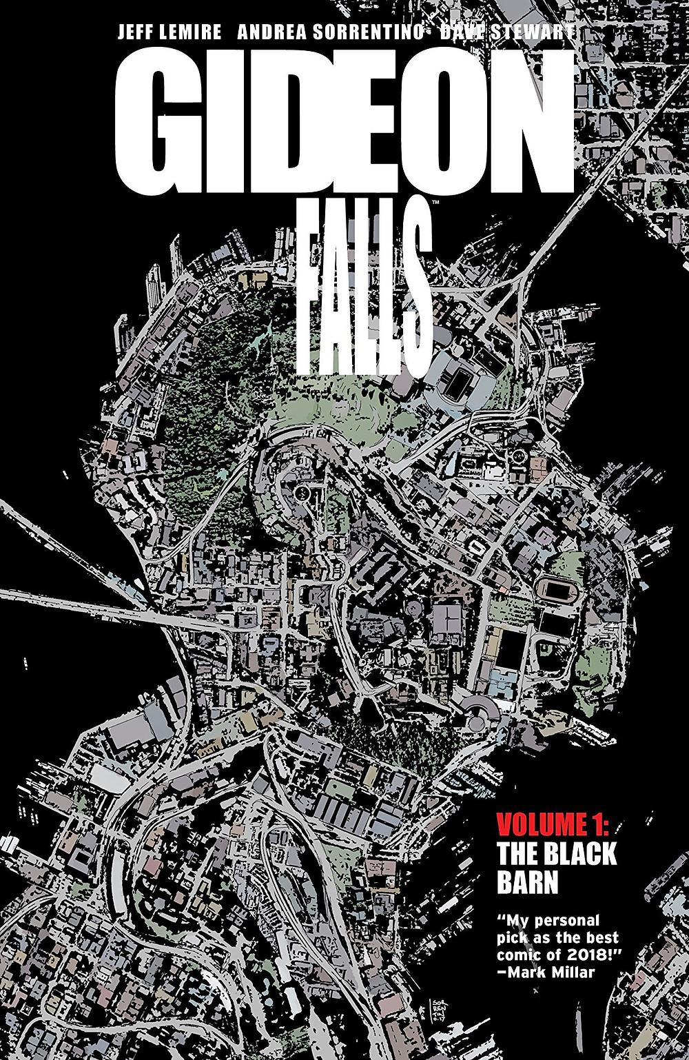 Gideon Falls, Vol. 1 (tpb), cover, Image Comics, Lemire/Sorrentino