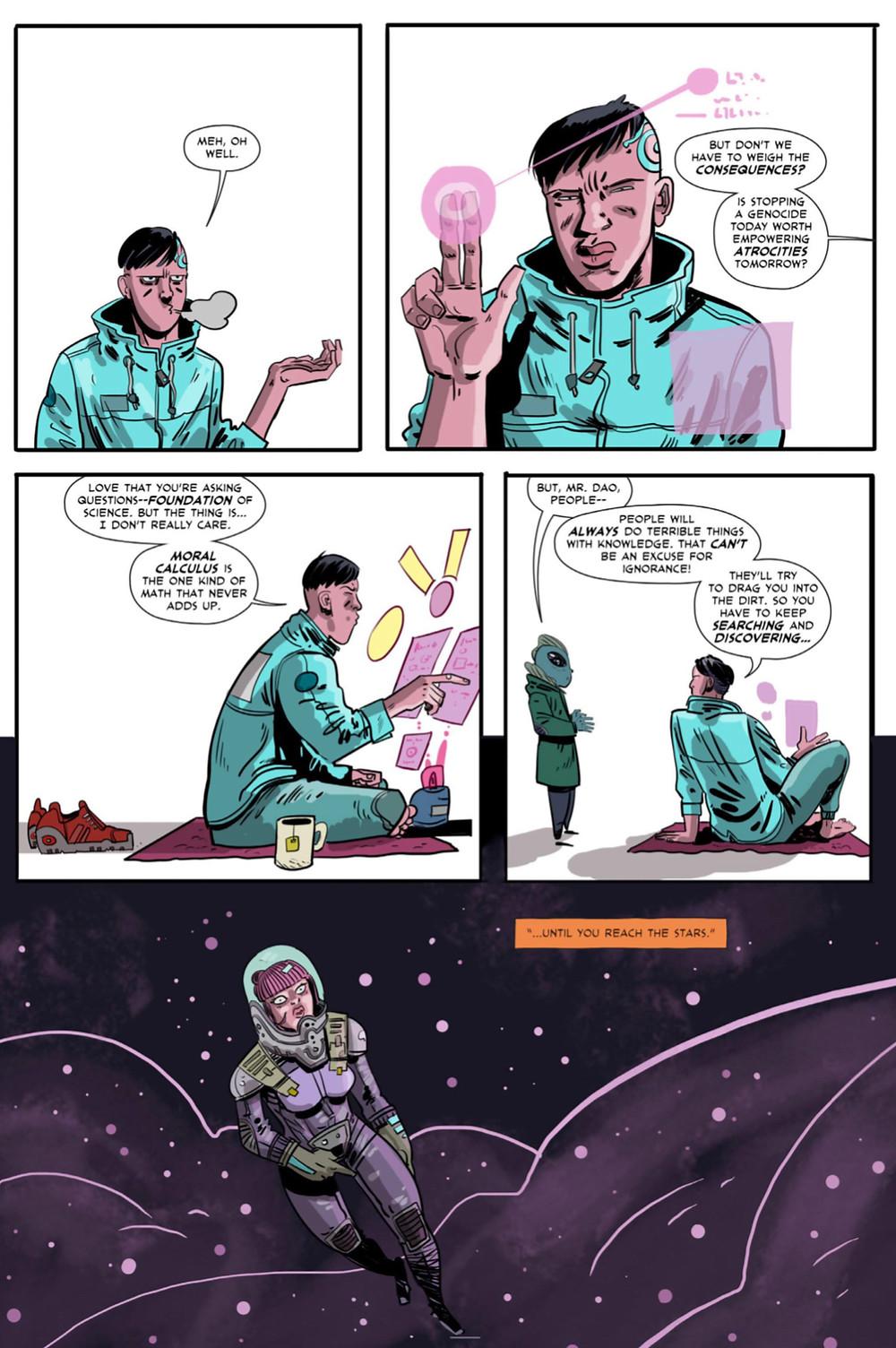 Gryffen, issue #3, page 5, SBI Press, Kahn/Hidalgo