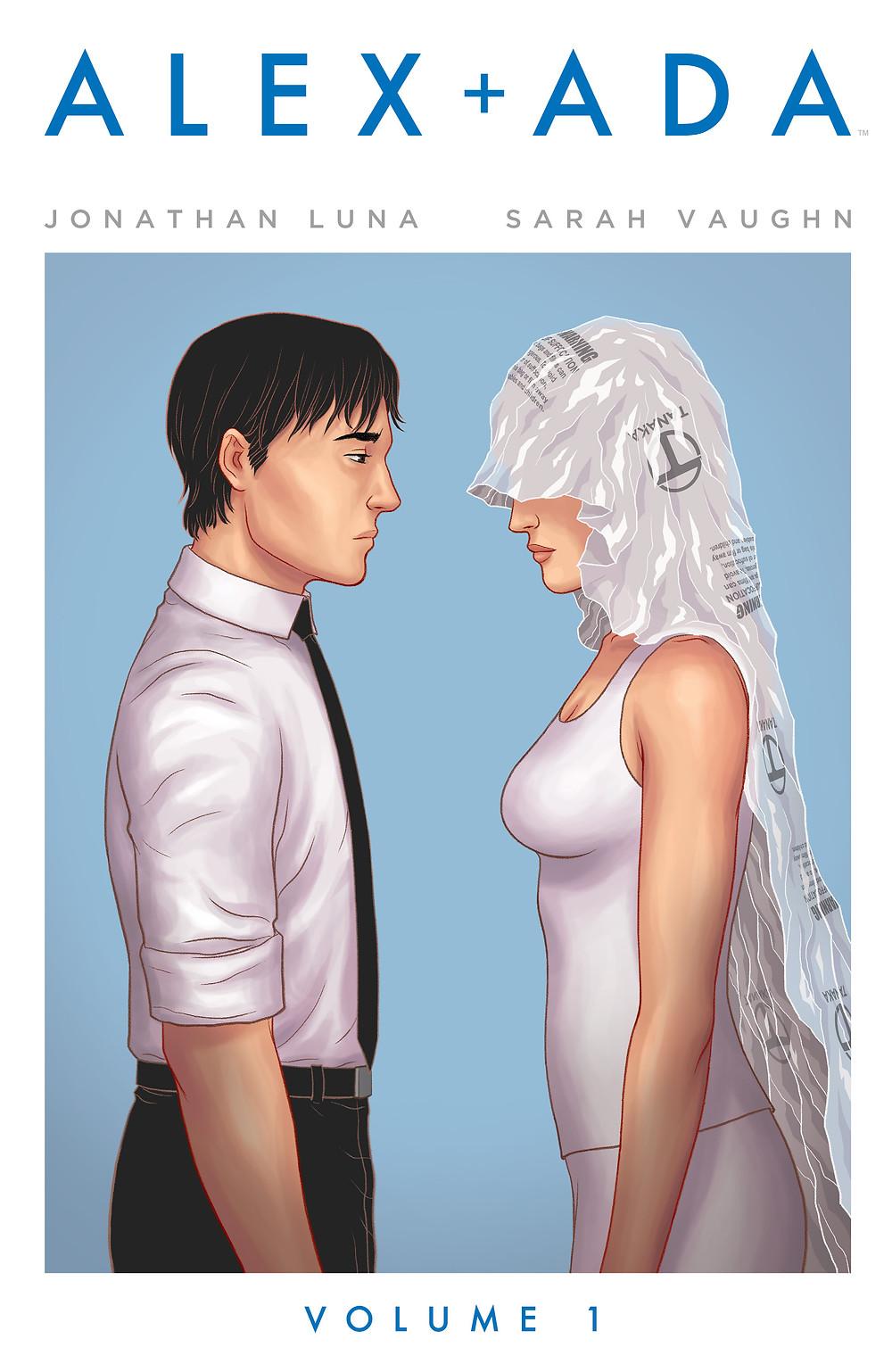 Alex + Ada, Vol. 1 (tpb), cover, Image Comics, Luna/Vaughn