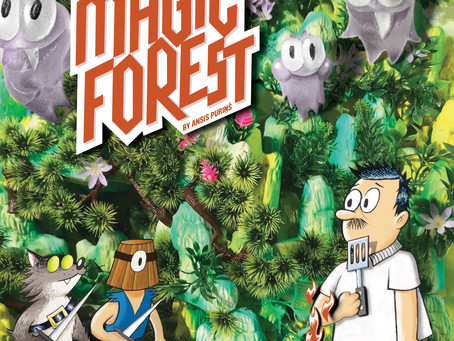 Take a Trip to the SUPER MAGIC FOREST –An Interview with Ansis Purins