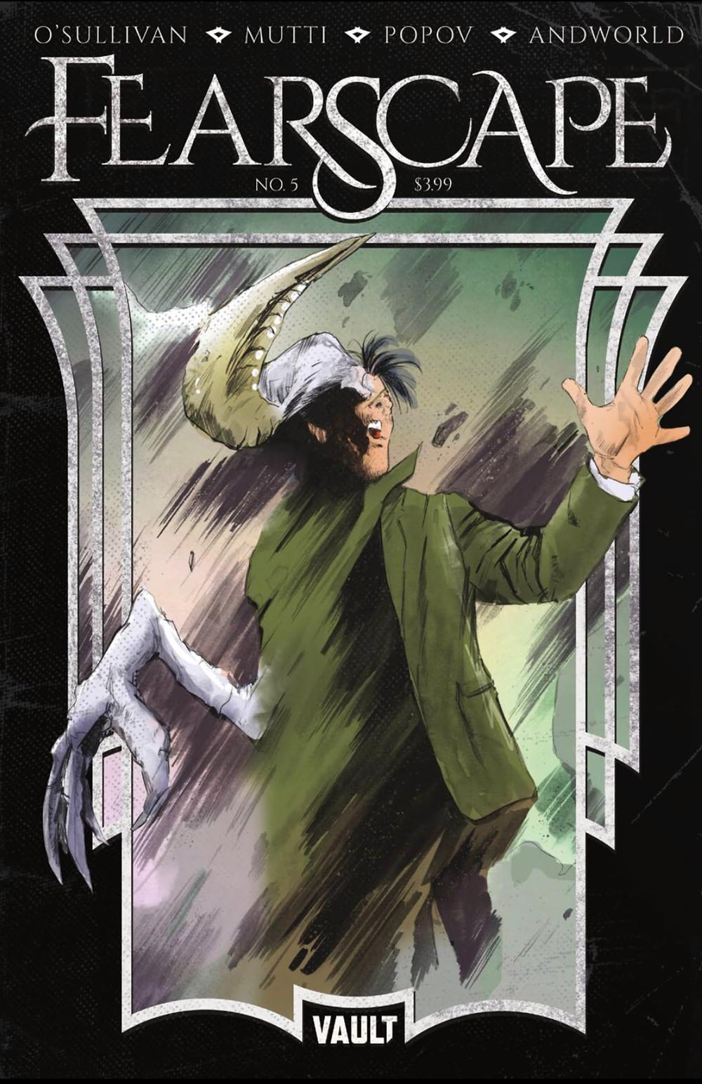 Fearscape, Issue #5, cover, Vault Comics, O'Sullivan/Mutti
