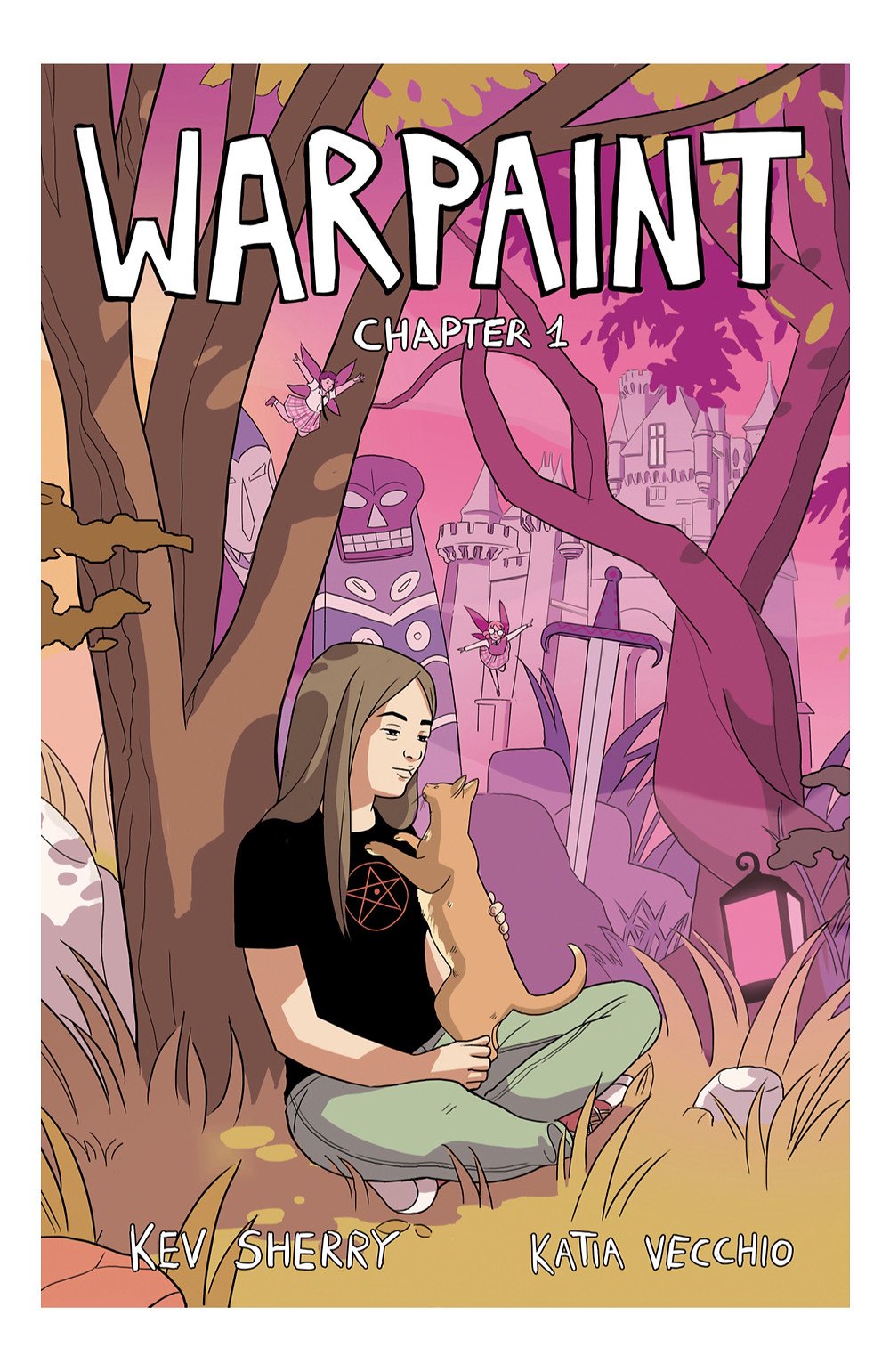 Warpaint, issue #1, cover, self-published, Sherry/Vecchio