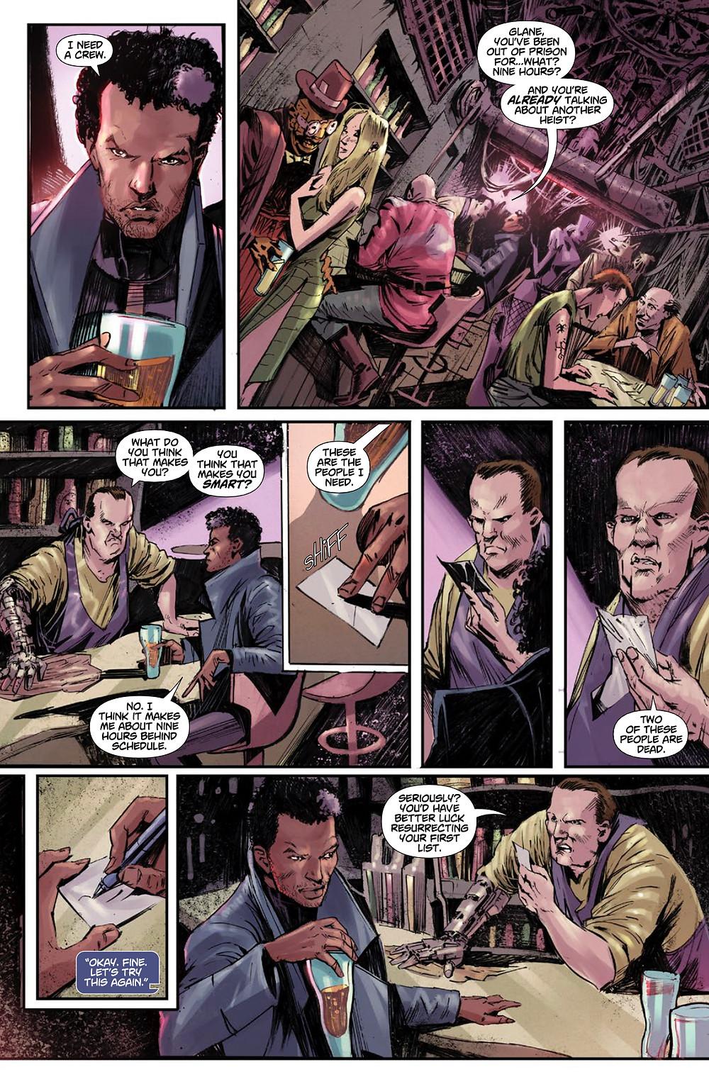 Heist, issue #1, page 4, Vault Comics, Tobin/Susini