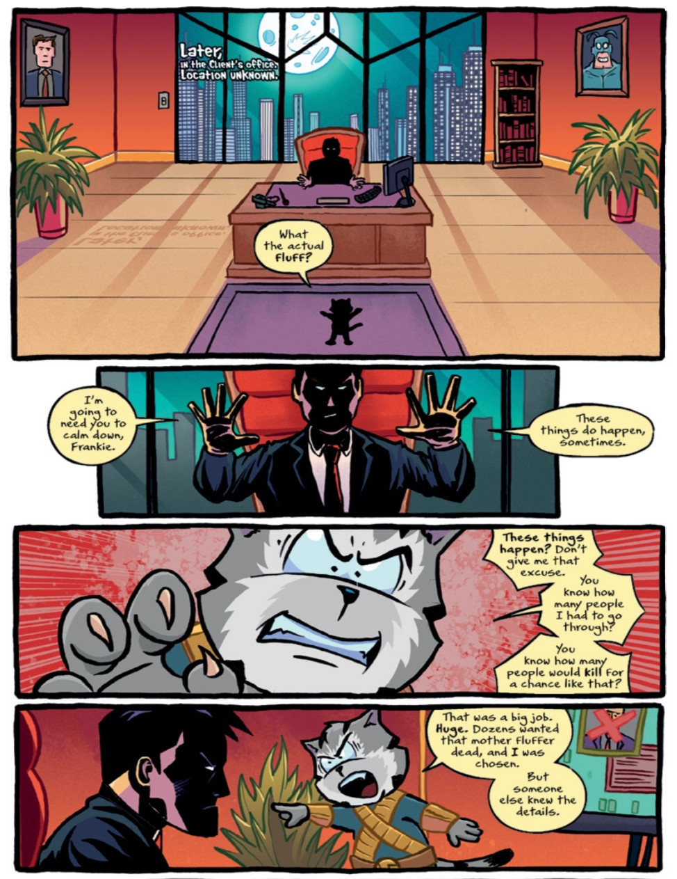 Heads!, issue #1, page 4, self-published, Jackson