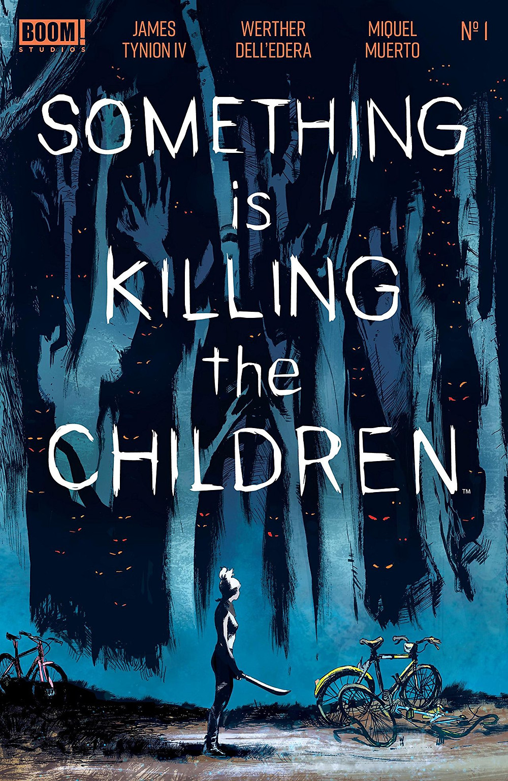 Something is Killing the Children, issue #1, cover, BOOM! Studios, Tynion IV/Dell'edera