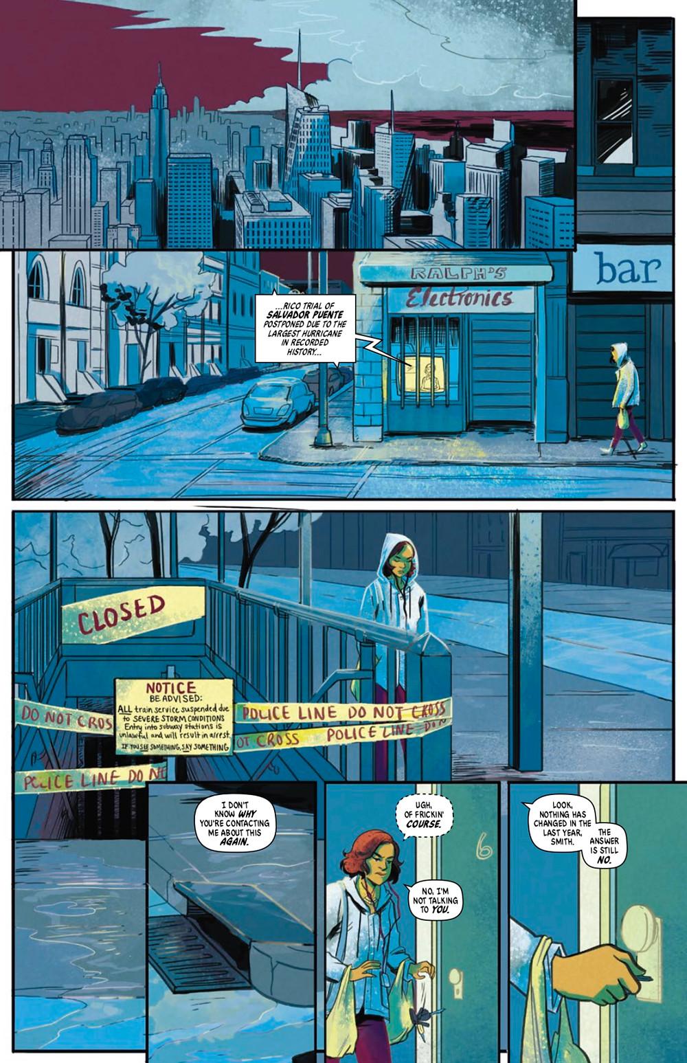 Submerged (tpb), Vault Comics, Ayala/Sterle
