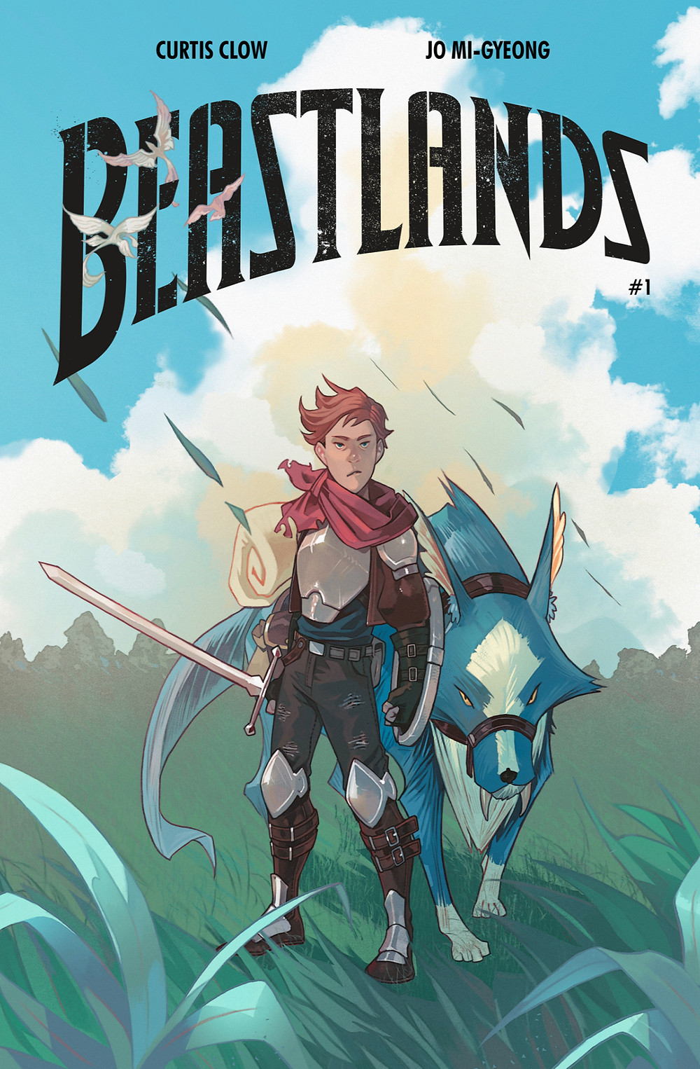 Beastlands #1, cover, self-published, Clow/Mi-Gyeong