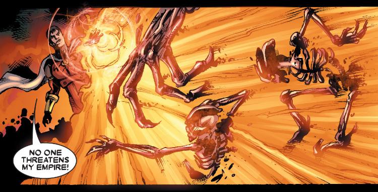 Emperor Vulcan, Marvel Comics, Yost/Luque