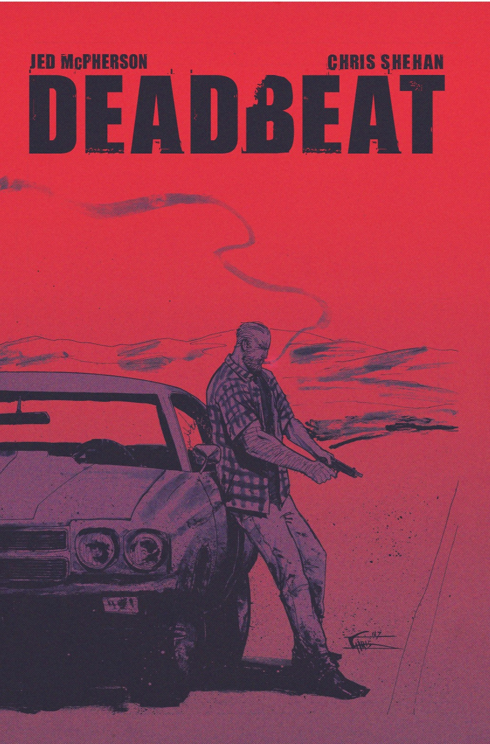 Deadbeat, one-shot, cover, self-published, McPherson/Shehan