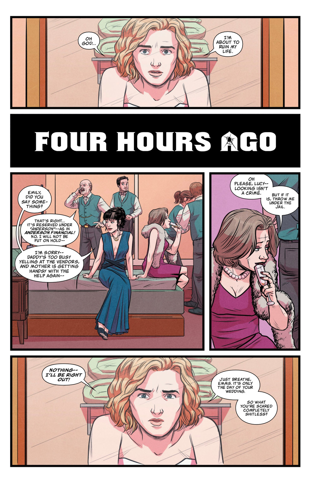 Going to the Chapel #1, page 9, Action Lab Entertainment, Pepose/Guidry