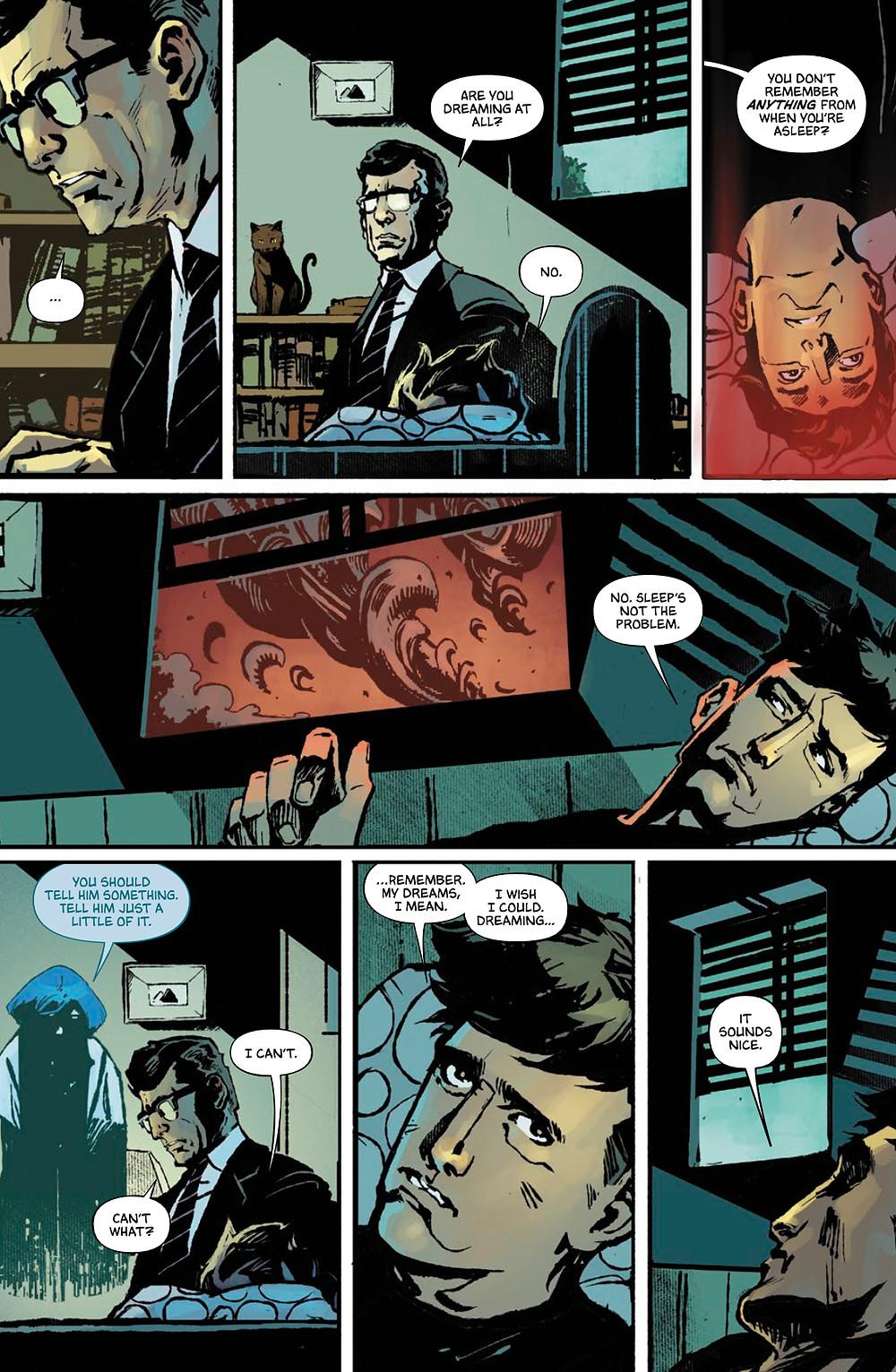 Dark One, Vol. 1, page 16, Vault, Sanderson/Lanzing/Kelly/Gooden