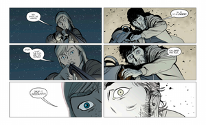 Barrier #1, page 47, Panel Syndicate, Vaughan/Martín