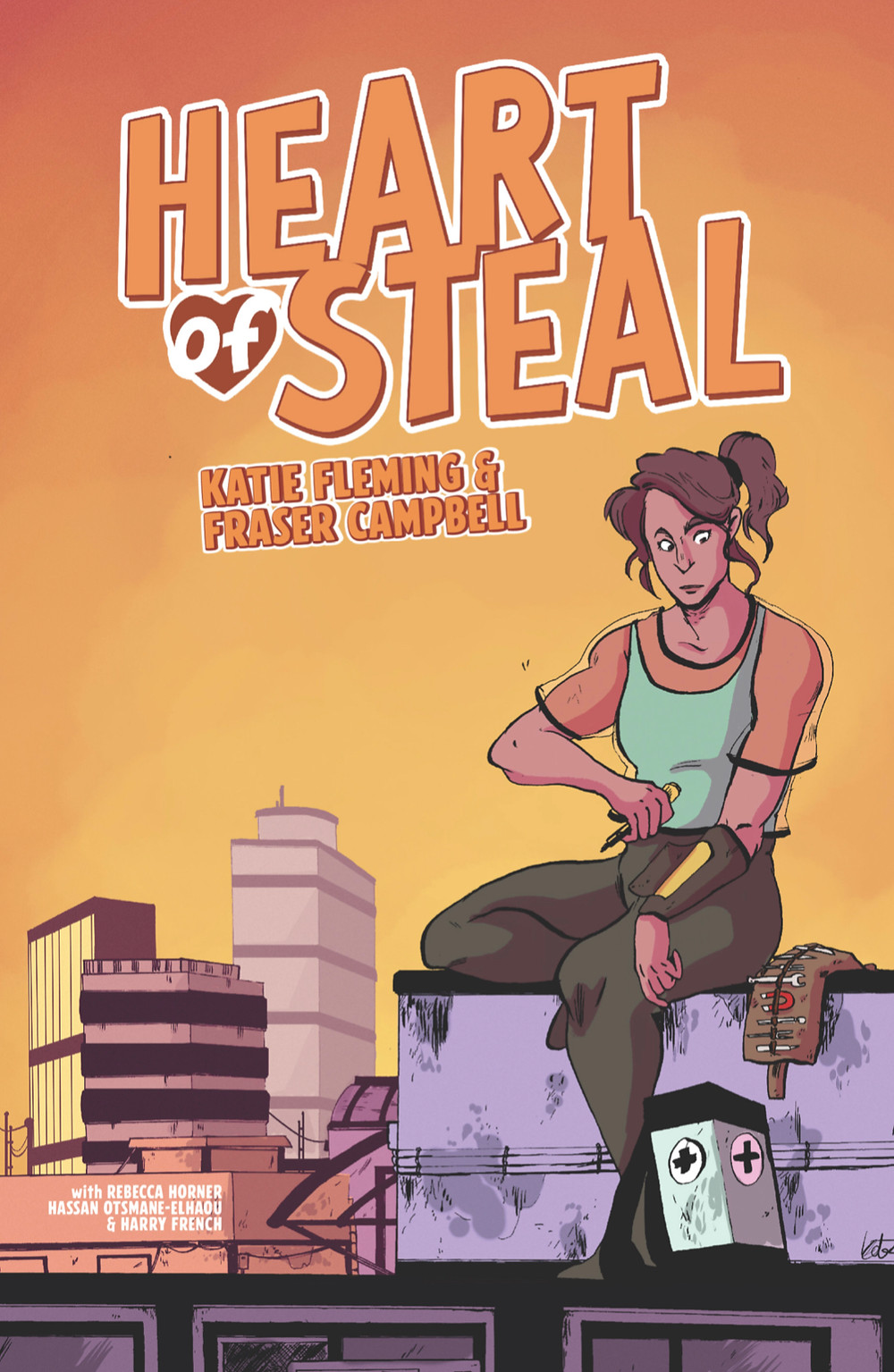 Heart of Steal, issue #1, cover, Cabal Comics, Campbell/Fleming
