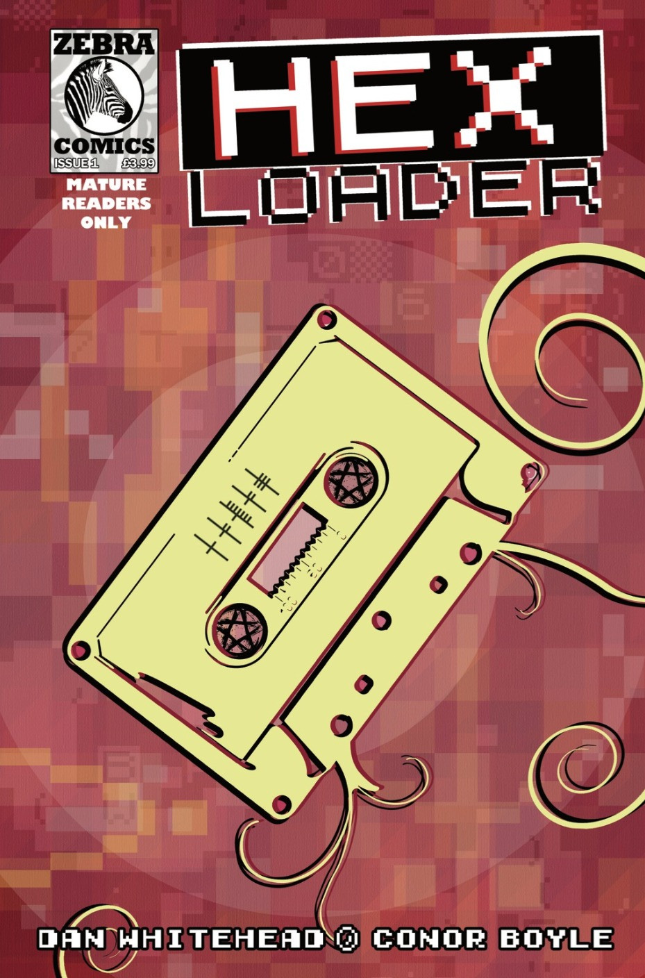 Hex Loader, issue #1, cover, U.K. Comics Collective, Whitehead/Boyle