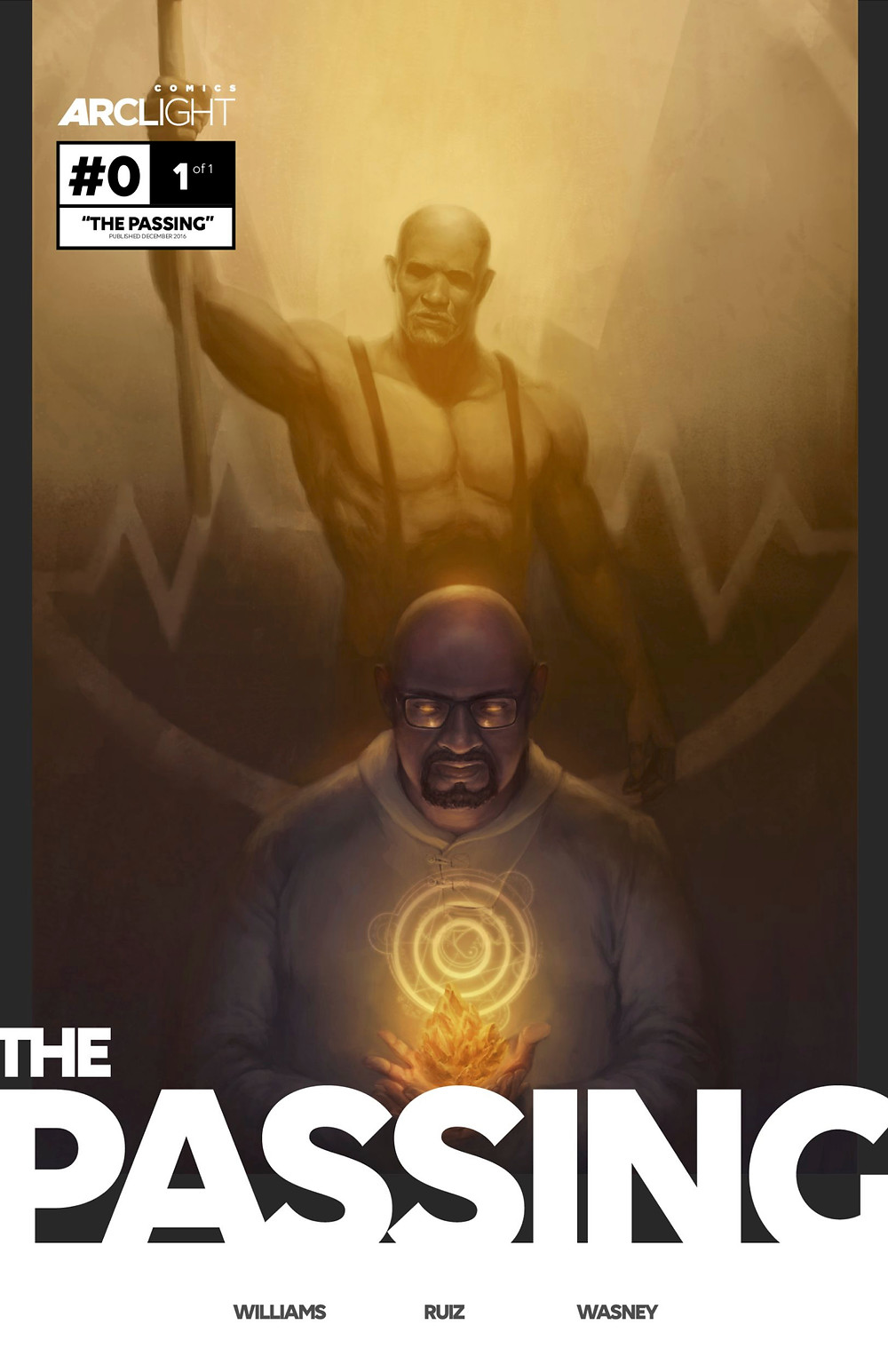 The Passing, Issue #0, cover, Arclight Comics, Williams/Ruiz