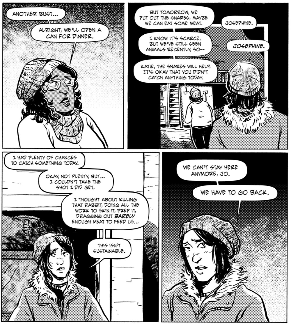 We Have To Go Back, page 8, Self-published, Alsaqa/Cantirino