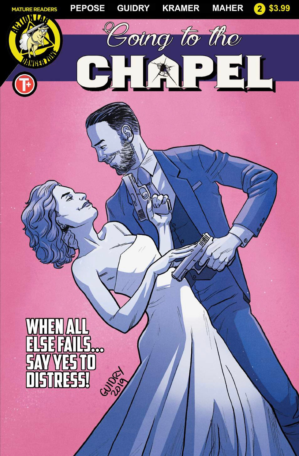Going to the Chapel #2, cover, Action Lab Entertainment, Pepose/Guidry