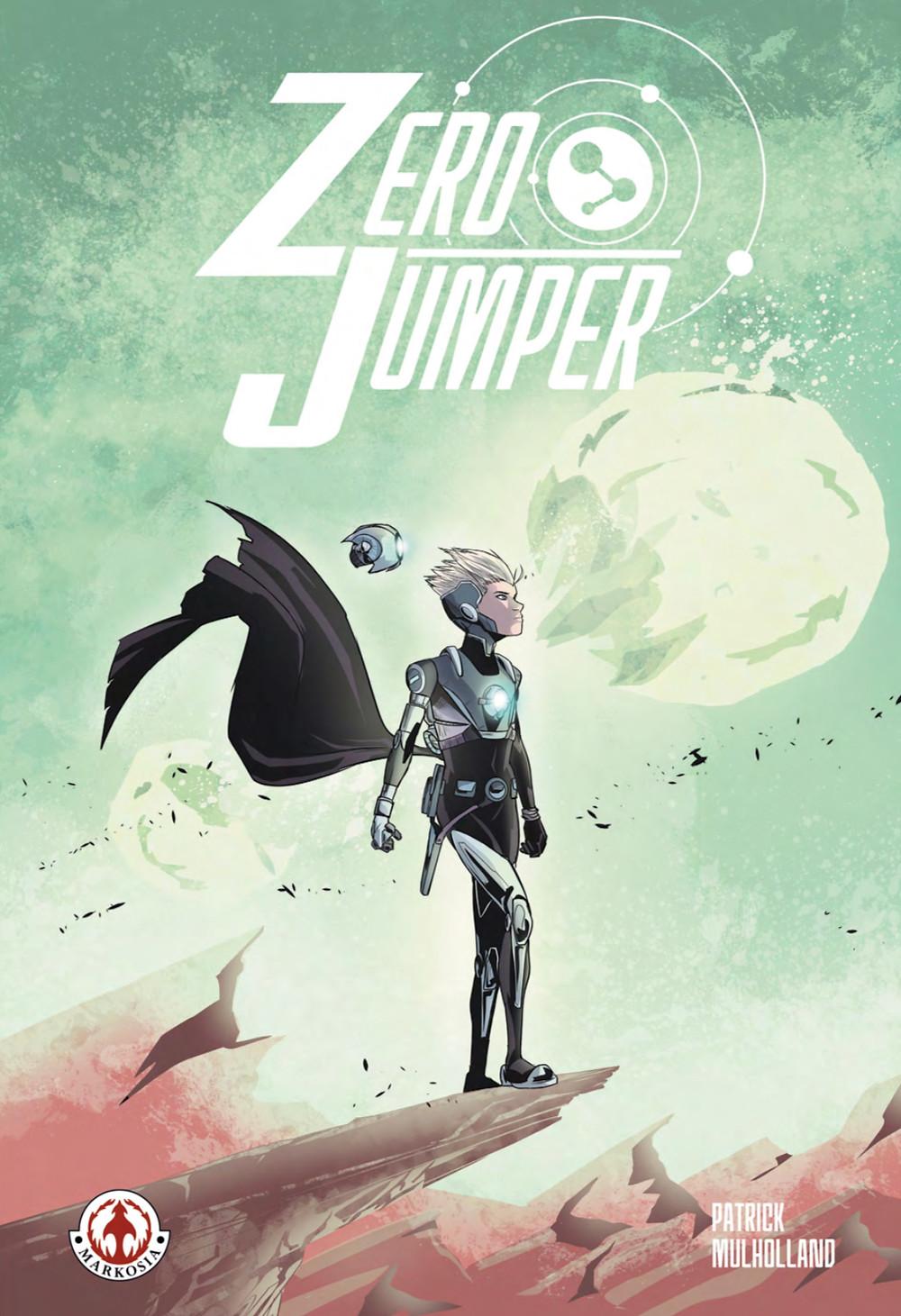 Zero Jumper (tpb), cover, Markosia, Mulholland