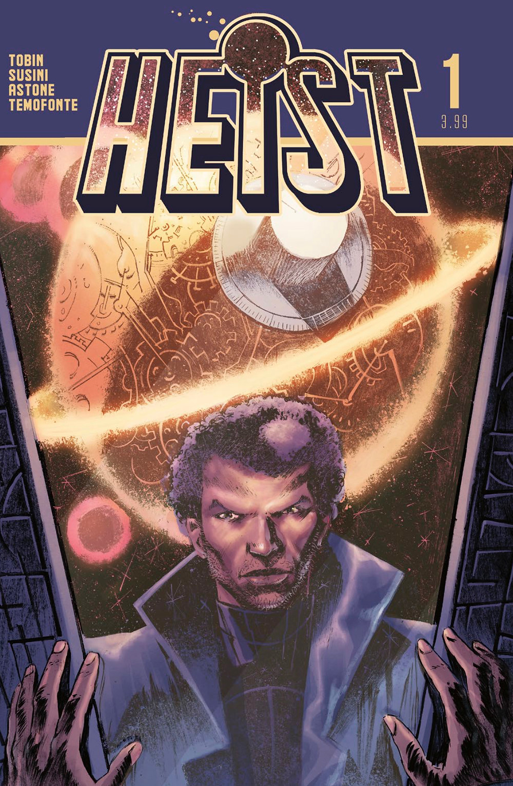 Heist, issue #1, cover, Vault Comics, Tobin/Susini