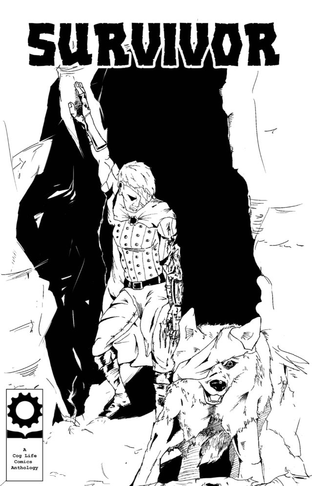 Survivor, anthology, cover, Cog Life Comics, Crehan/Gillham