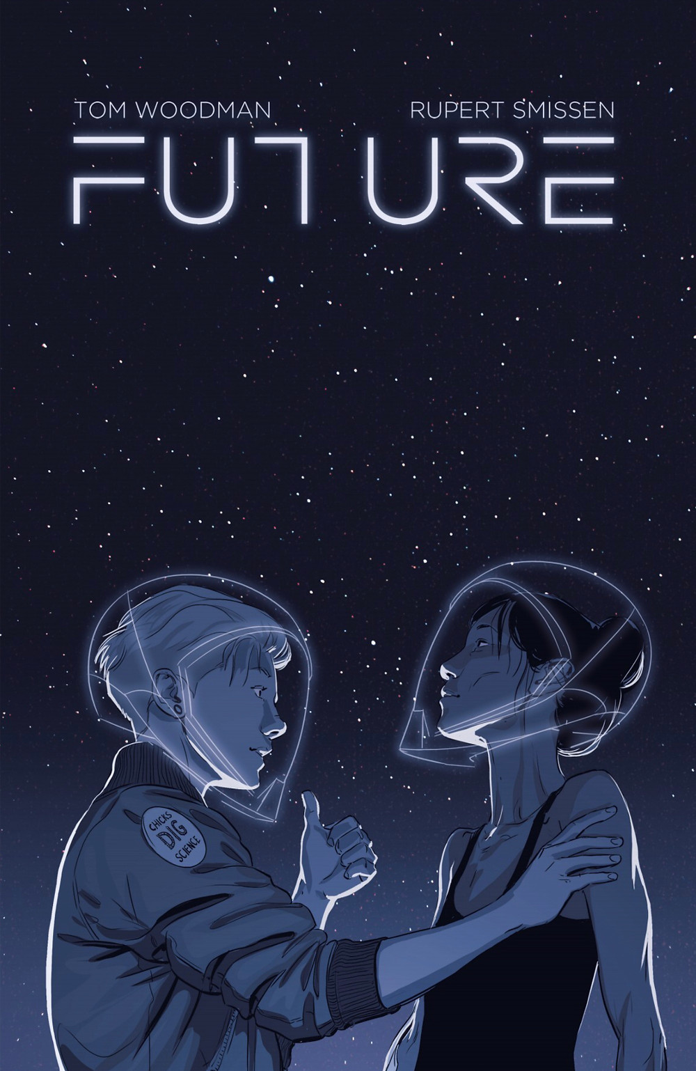 Future, cover, self-published through Unbound Publishing, Woodman/Smissen