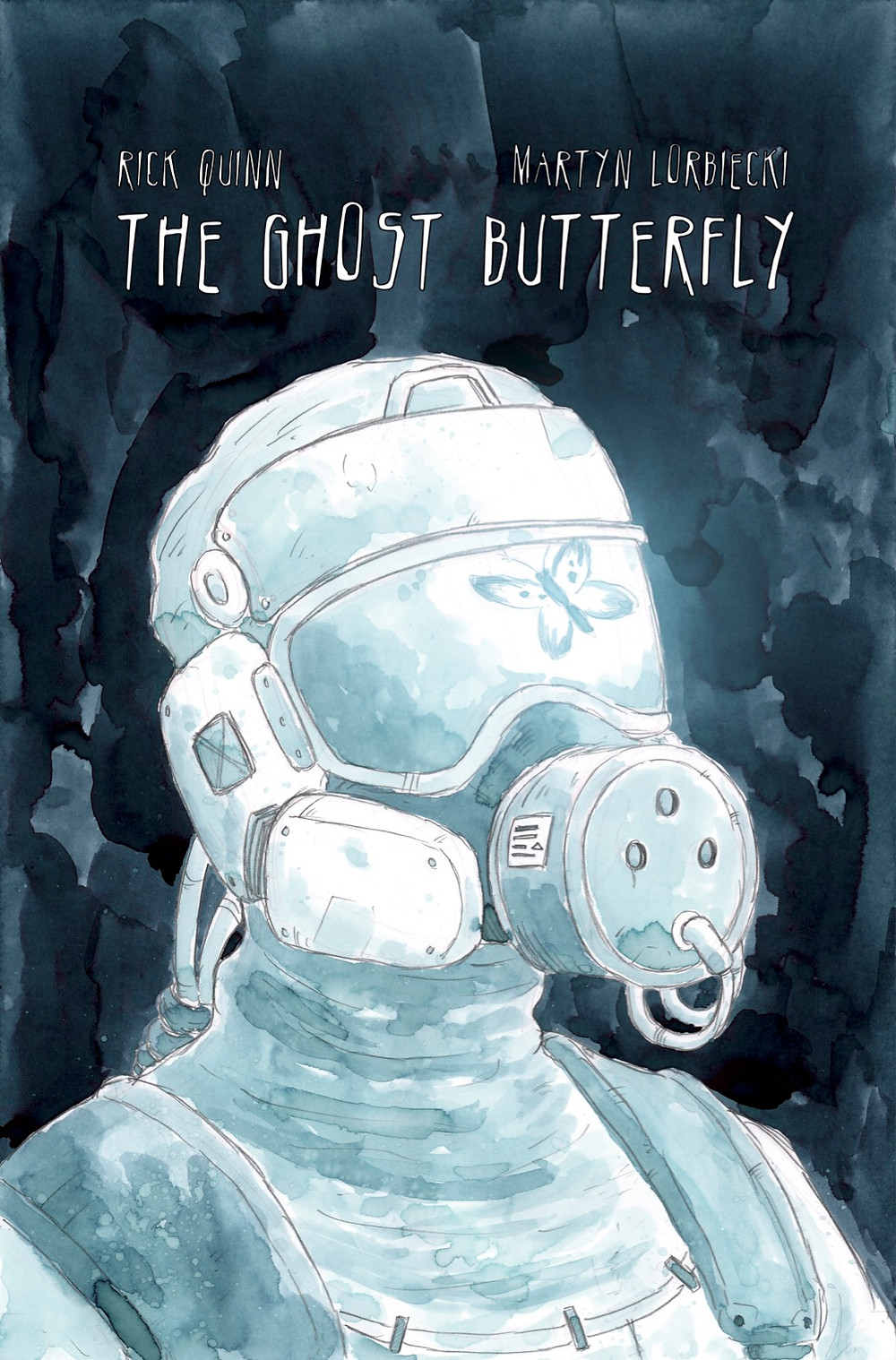 The Ghost Butterfly, one-shot, cover, Self-published, Quinn/Lorbiecki