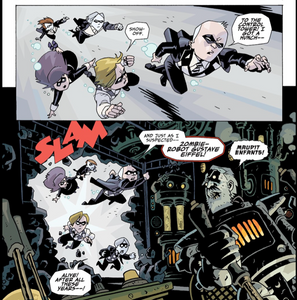 The Umbrella Academy, Vol. 1 (tpb), page 23, Dark Horse, Way/Bá