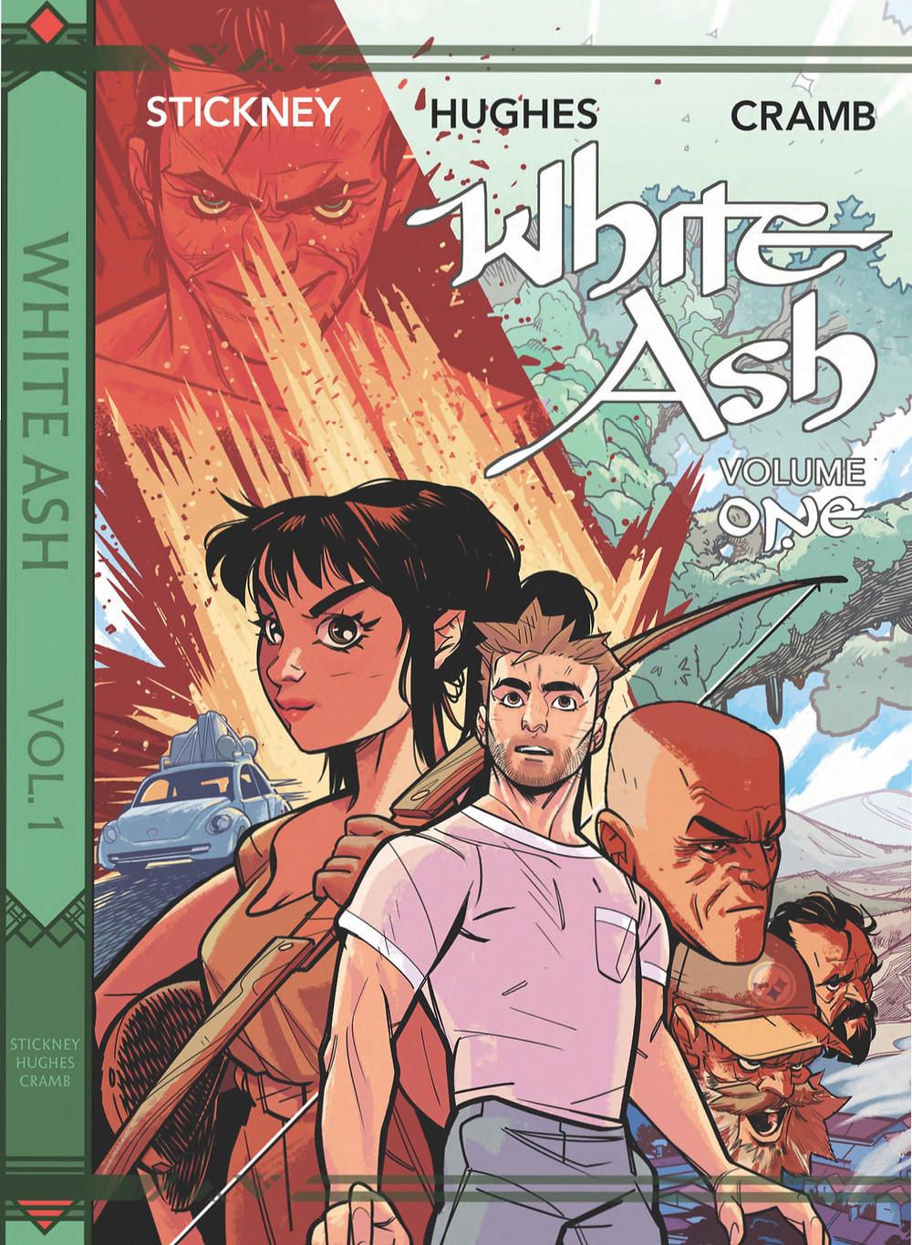 White Ash, Vol. 1, cover, Scout Comics, Stickney/Hughes