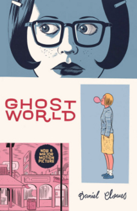 Ghost World (tpb), cover, Fantagraphics Books, Clowes