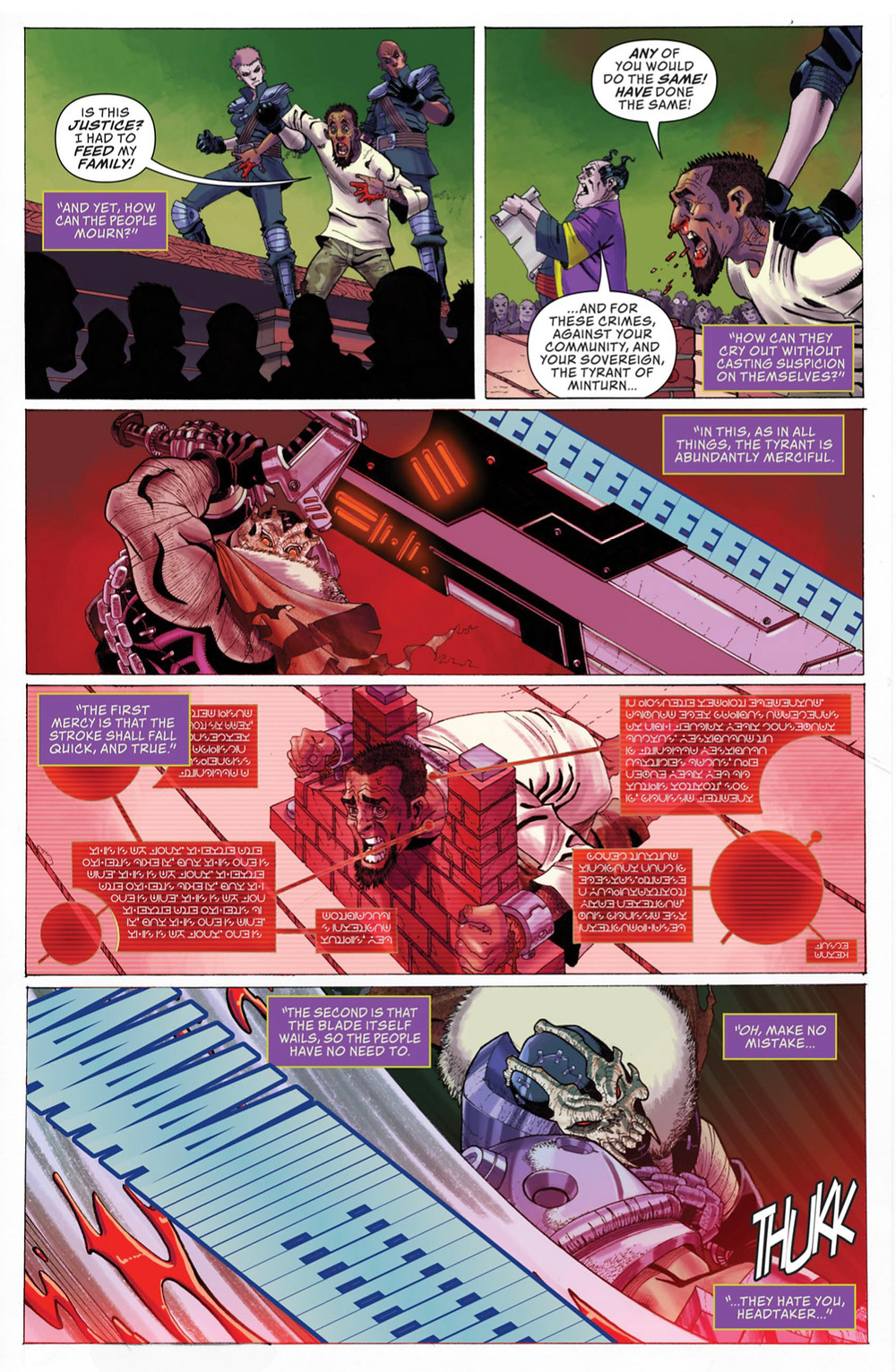 Wailing Blade, issue #1, page 13, ComixTribe, Douek/Mulvey