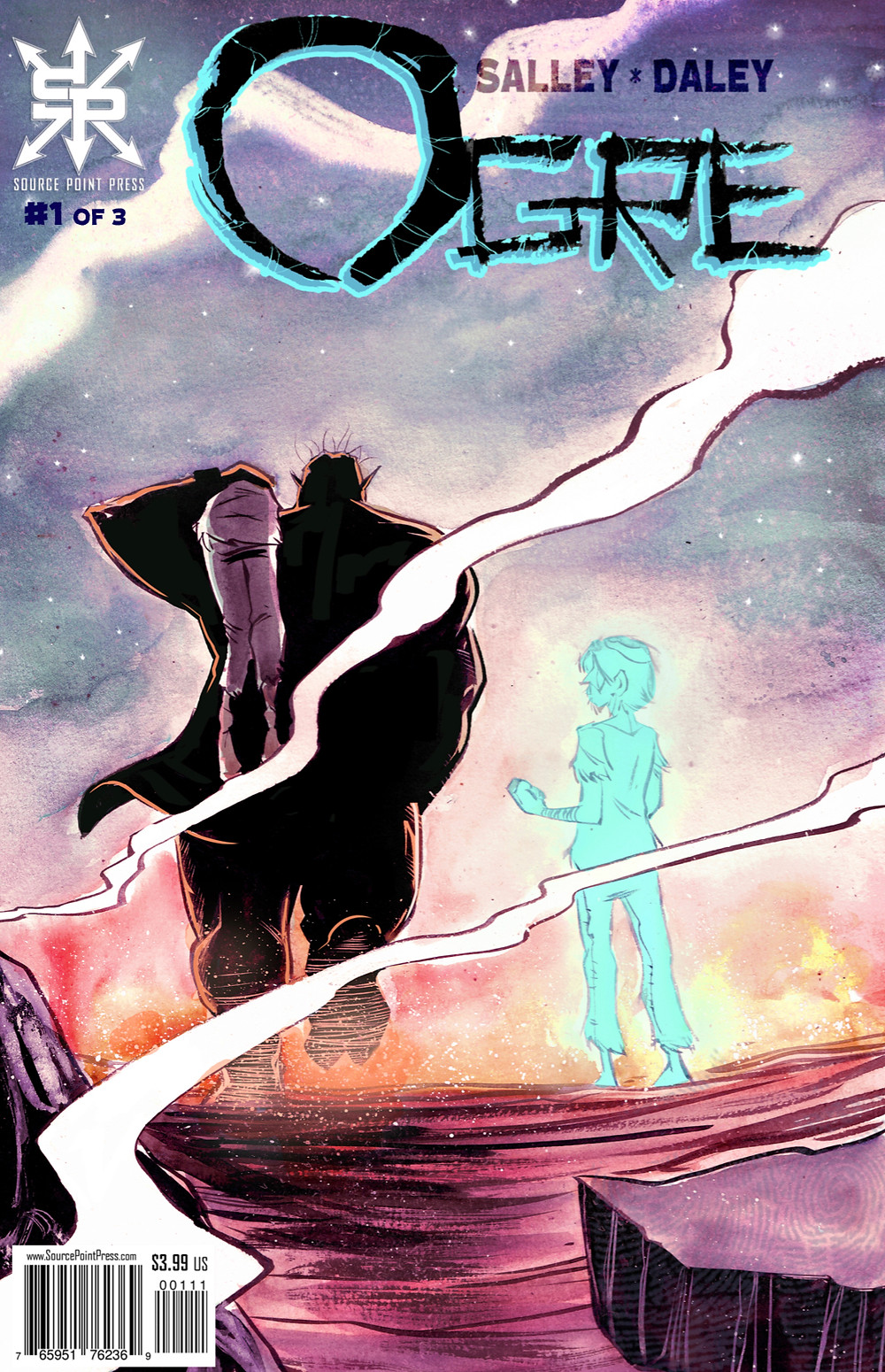 Ogre, issue #1, cover, self-published, Salley/Daley