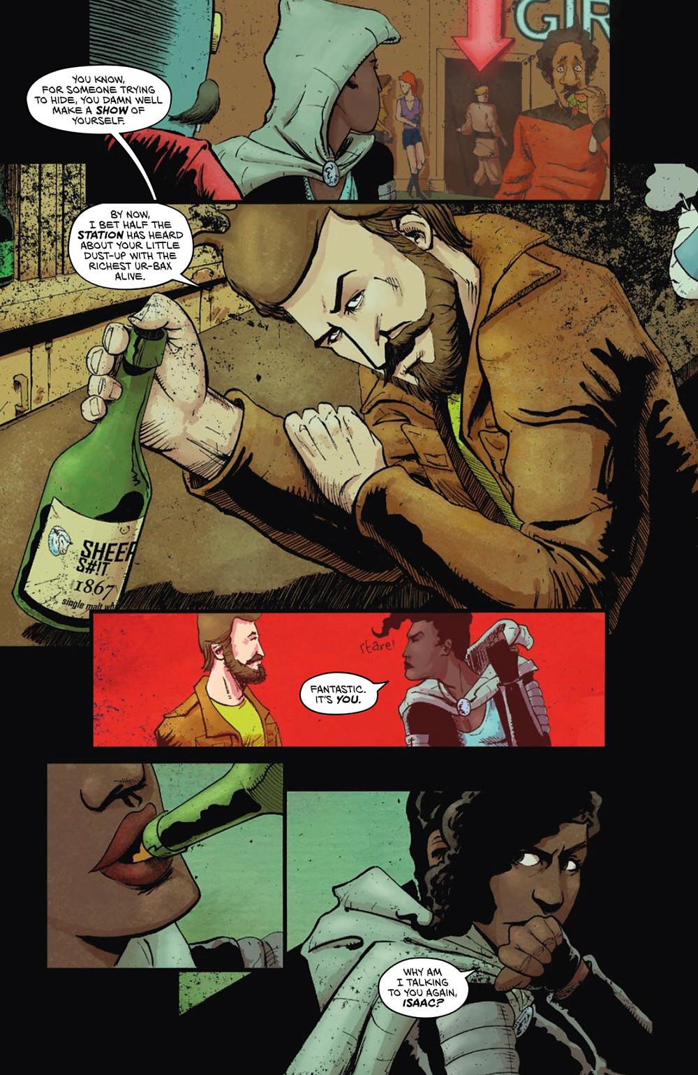 Vagrant Queen (tpb), Vault Comics, Visaggio/Smith