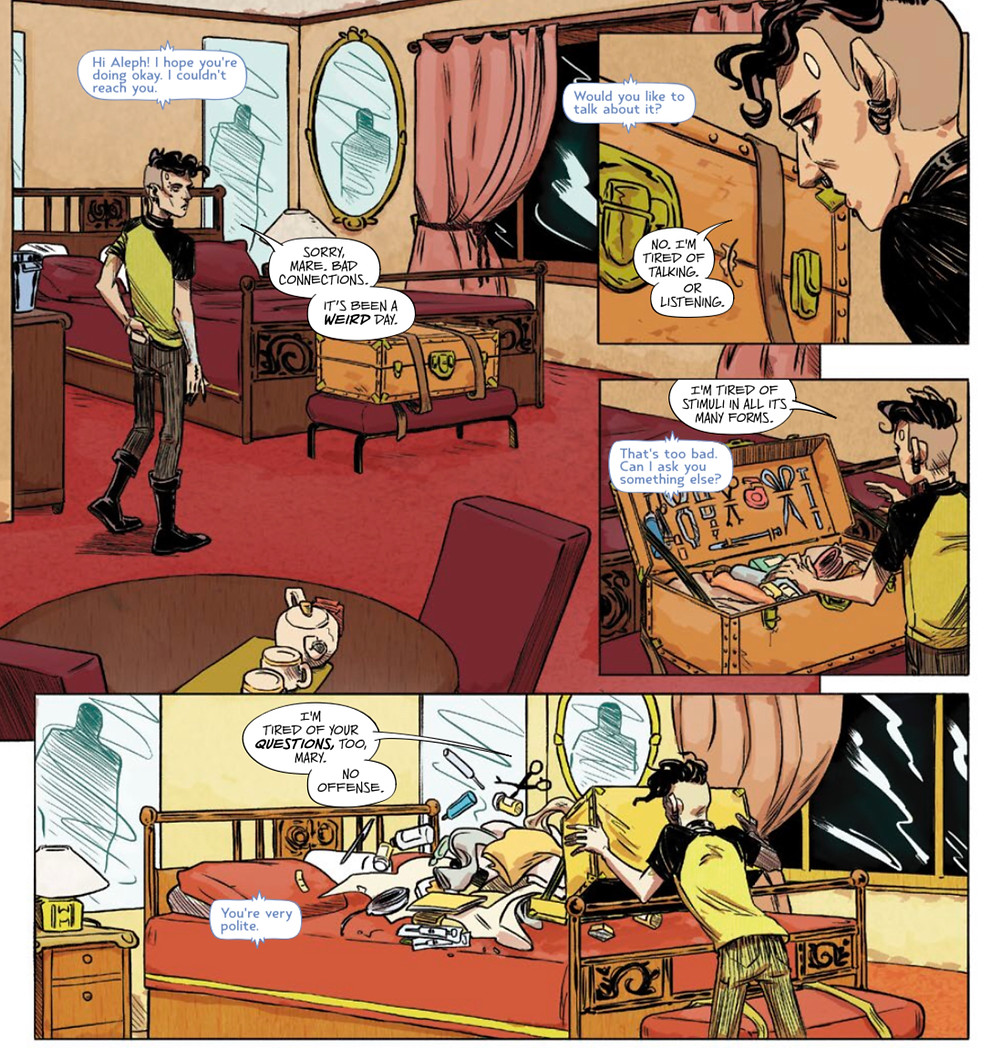 Test, issue #3, Vault Comics, Sebela/Hickman