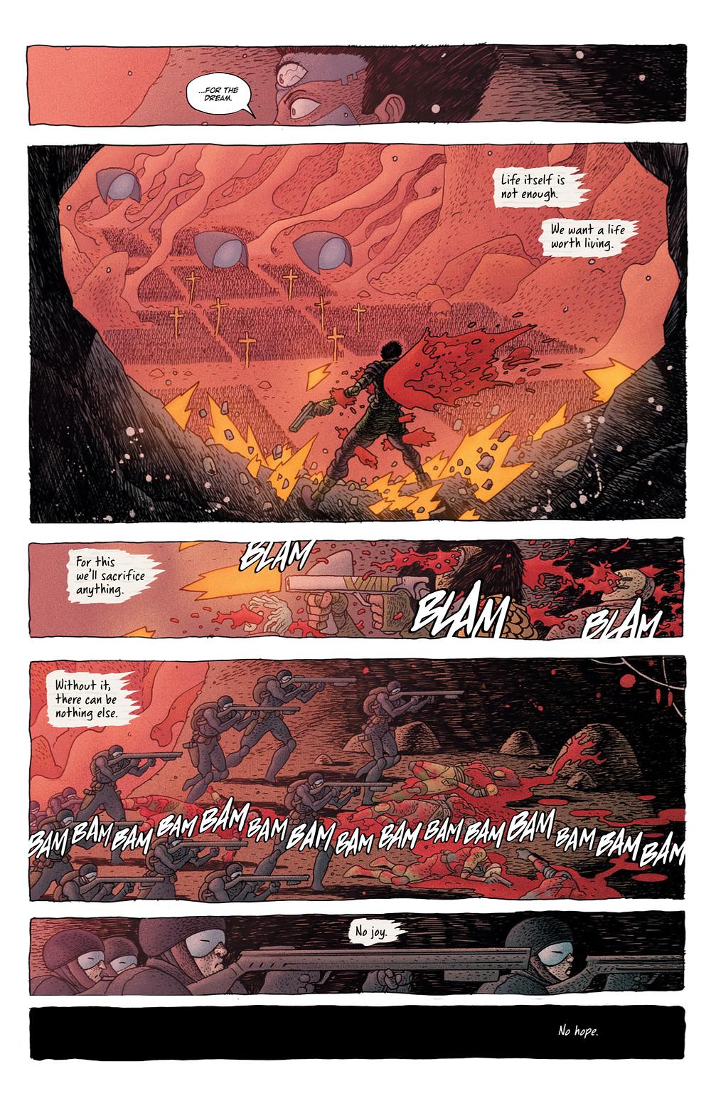 Little Bird, issue #4, page 6, Image Comics, Van Poelgeest/Bertram
