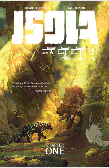 Isola, Vol. 1 (tpb), cover, Image, Fletcher/Kerschl