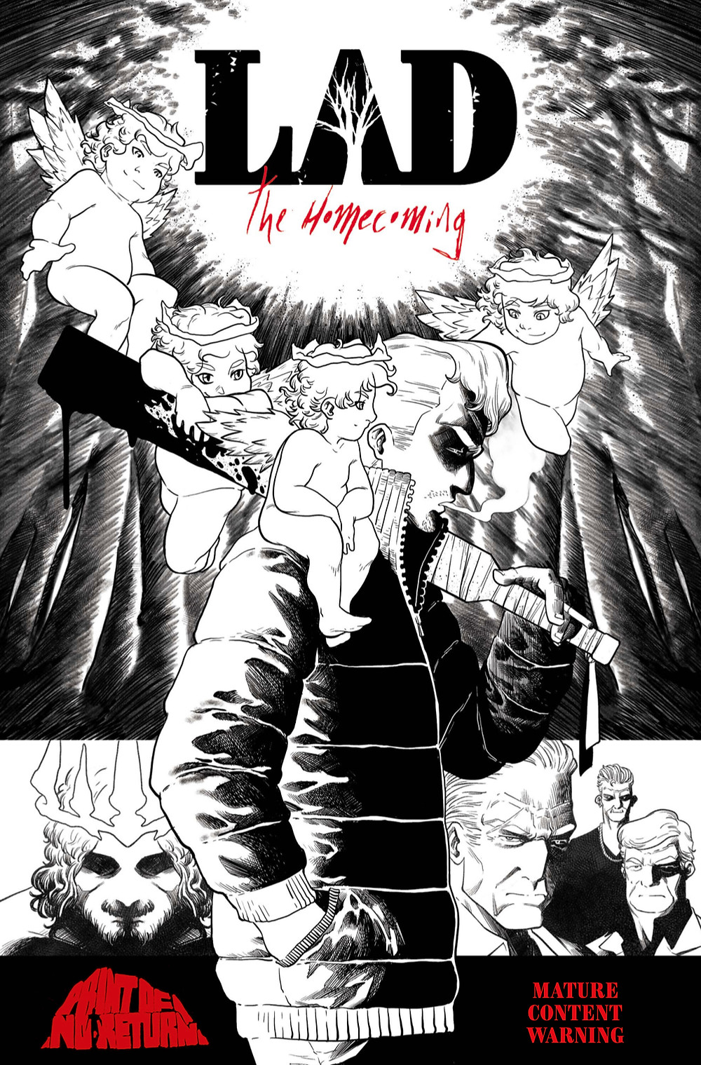 Lad: The Homecoming, issue #1, cover, Print of No Return, Ditta/Pedro