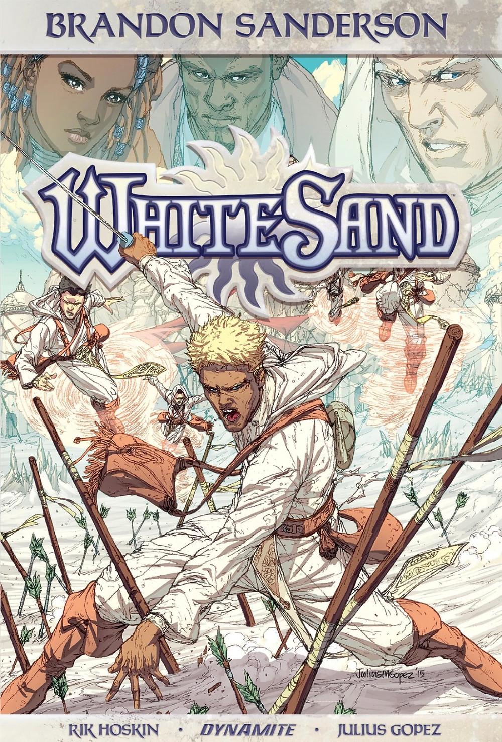 White Sand, Vol. 1, cover, Dynamite, Sanderson/Hoskin/Gopez
