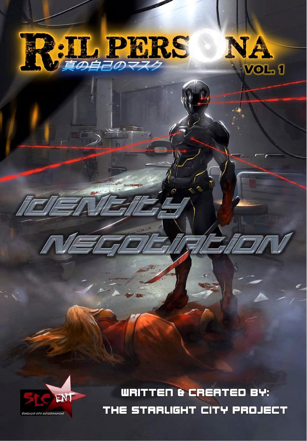 R:IL Persona, Vol. 1, cover, Starlight City Entertainment, The Starlight City Project/Skill3 Studio