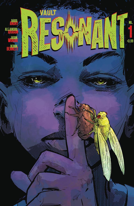Resonant, issue #1, cover, Vault Comics, Andry/Aragón