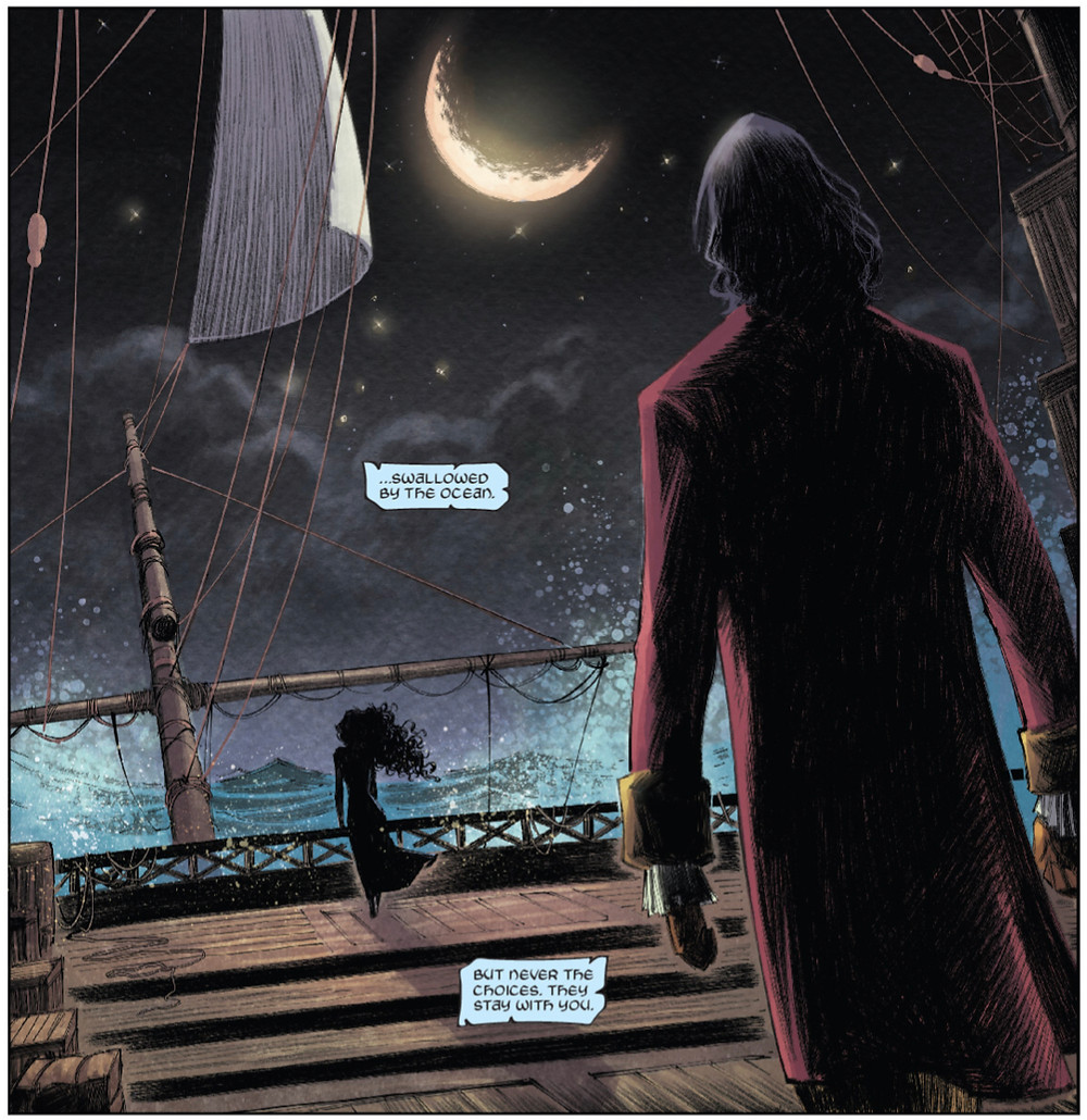 These Savage Shores, Issue #5, page 4, Vault Comics, Ram V/Sumit Kumar