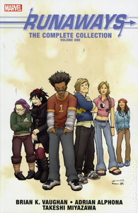 Runaways: The Complete Collection, Vol. 1 (tpb), cover, Marvel Comics, Vaughan/Alphona/Miyazawa