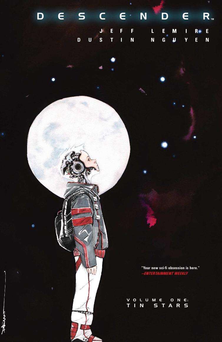 Descender, Vol. 1 (tpb), cover, Image, Lemire/Nguyen