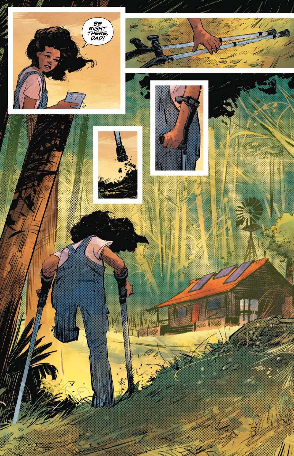 Resonant, issue #1, page 4, Vault Comics, Andry/Aragón
