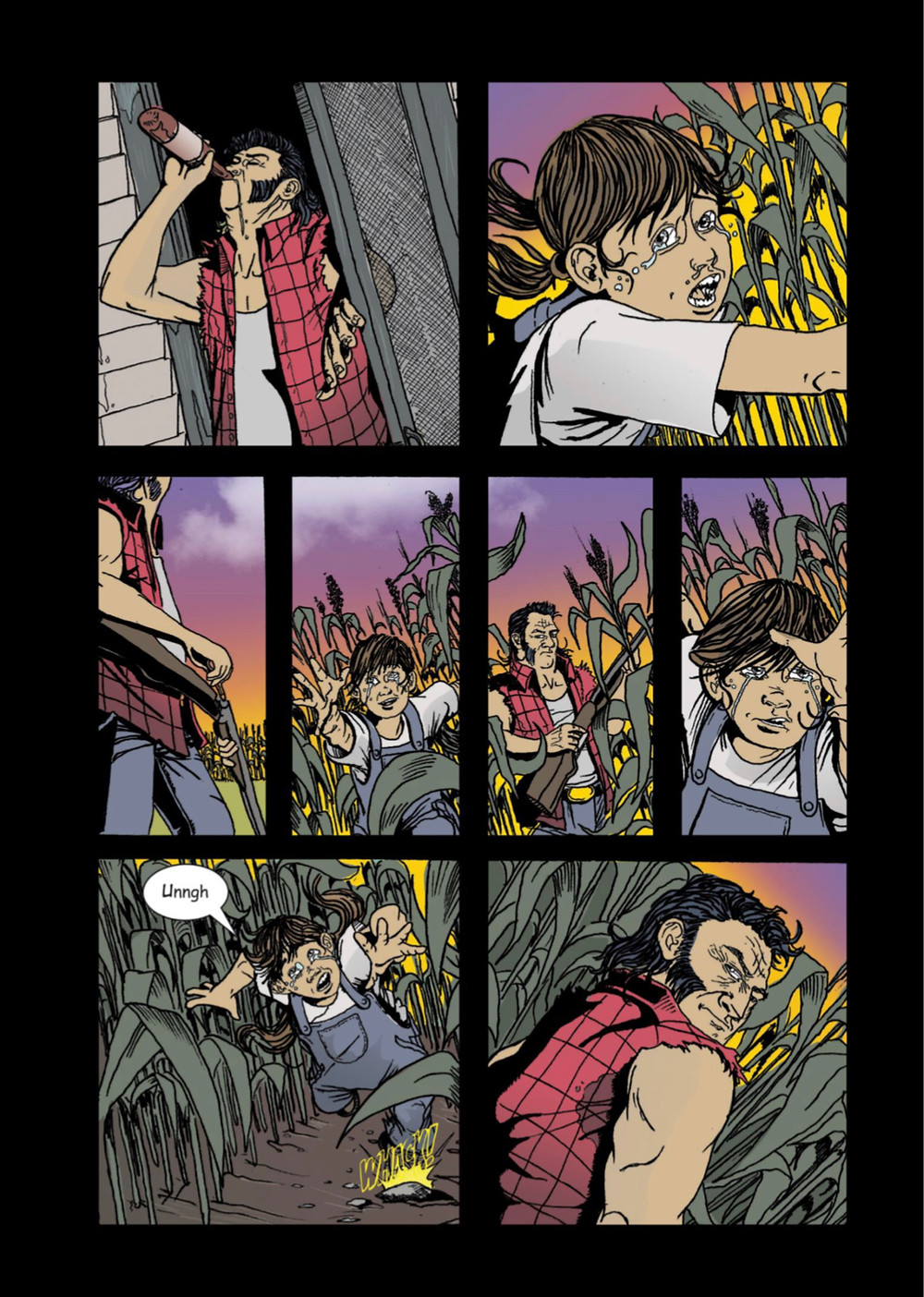 The Offspring, issue #1, page 5, Correct Handed Productions, Whalen/Sylvestre