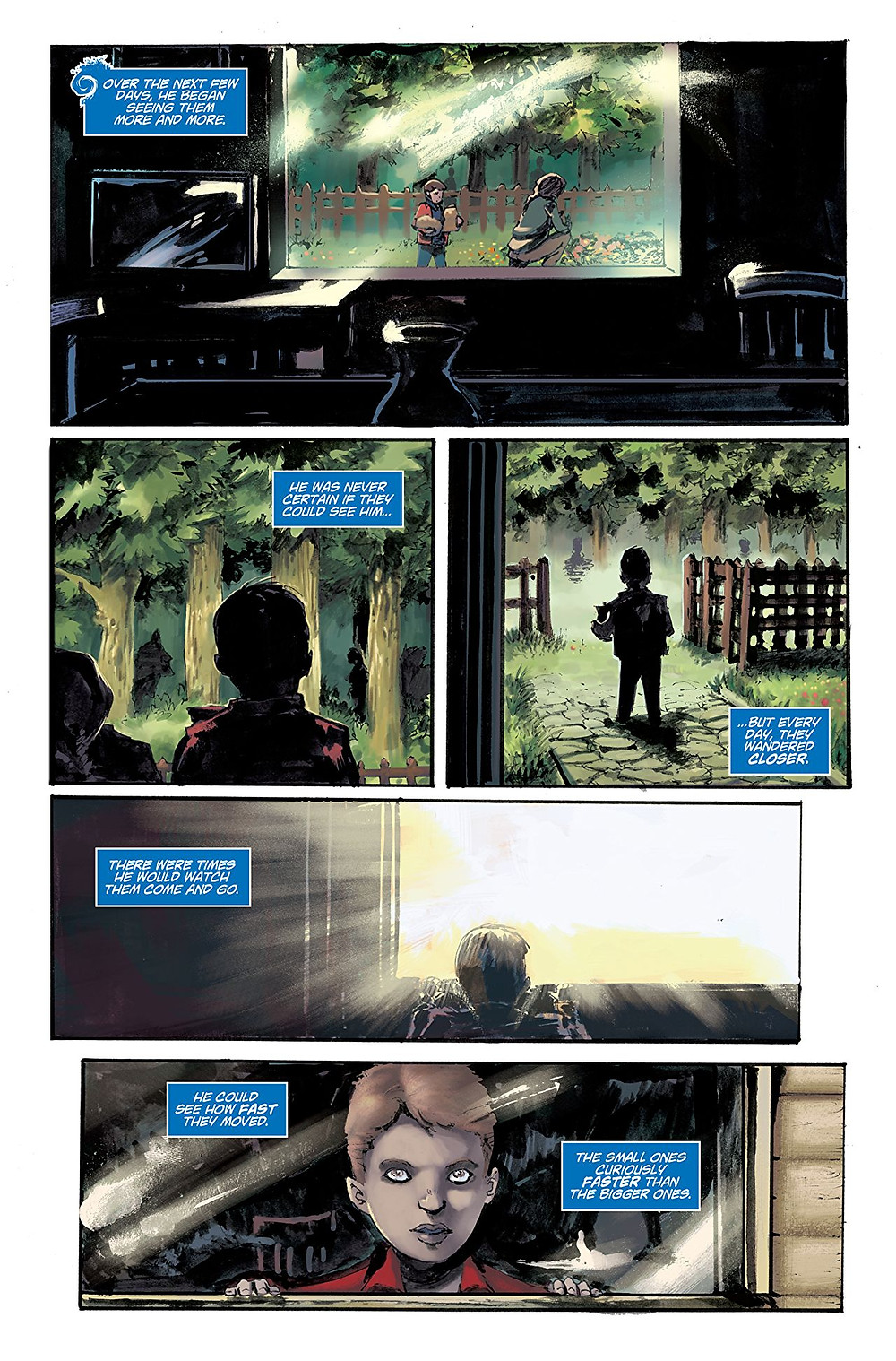 Sweet Heart, Issue #1, page 4, Self-published, Gilbertson/Iaquinta