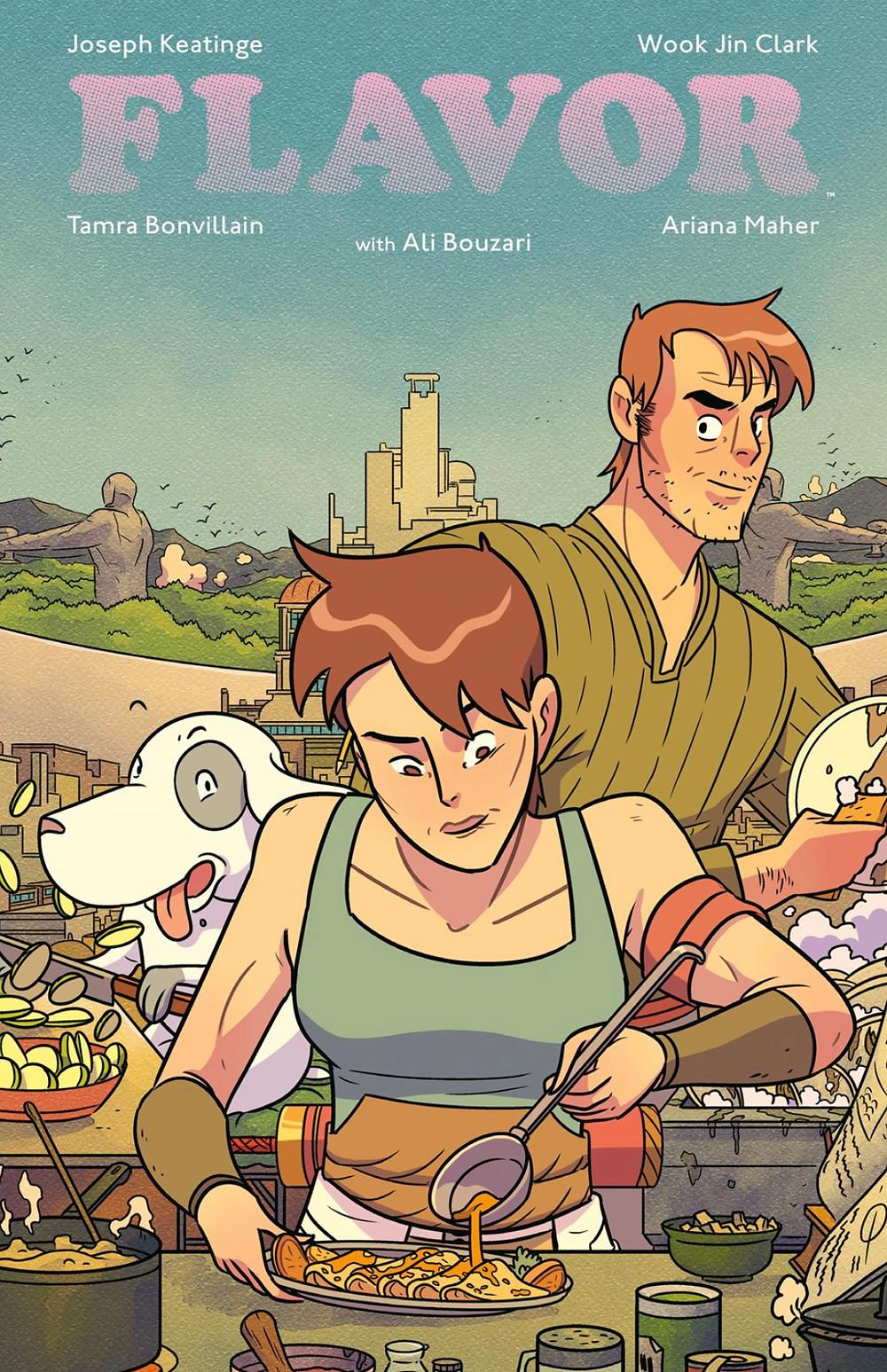 Flavor, Vol. 1 (tpb), cover, Image Comics, Keatinge/Jin Clark