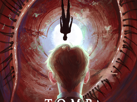 New News: TOMB OF THE RED HORSE HORROR COMIC LAUNCHES ON KICKSTARTER!