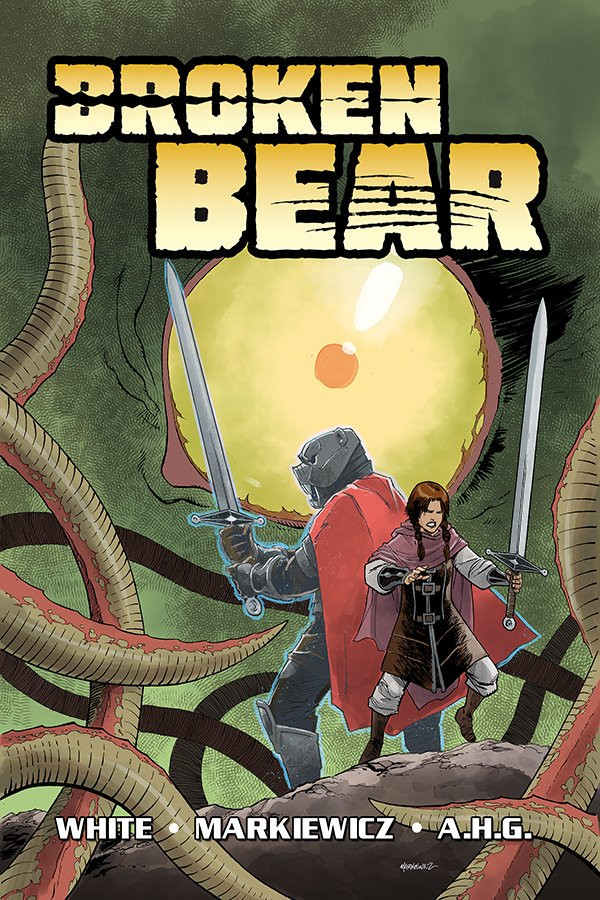 Broken Bear, Vol. 1 (tpb), cover, Caliber Comics, White/Markiewicz